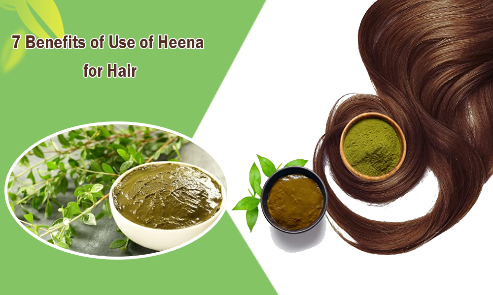 7 Benefits of Use of Heena for Hair